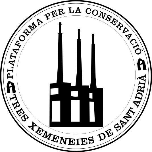 Pla taforma per la conservació de les tres xemeneies de Sant Adrià